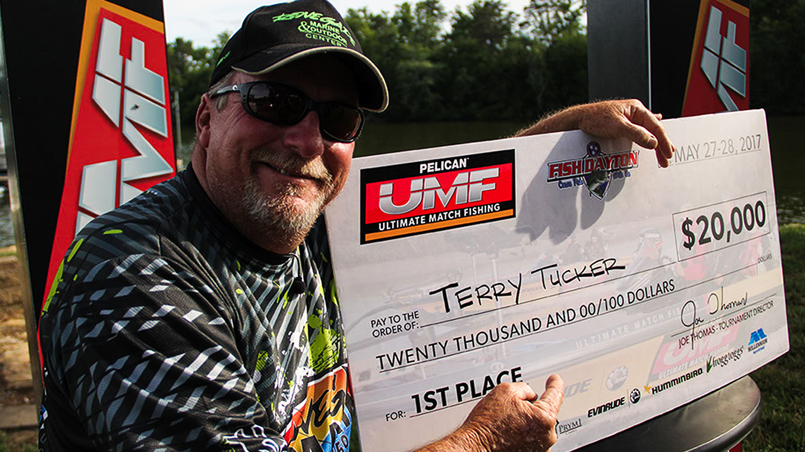 Terry tucker wins ultimate match fishing on chickamauga for Ultimate match fishing